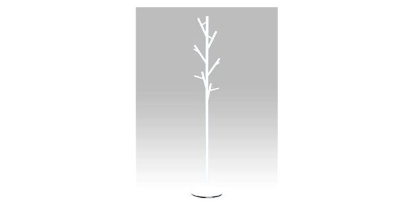 Stojací věšák 170 cm, bílá