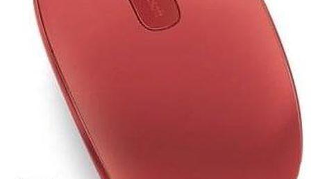 Microsoft Wireless Mobile Mouse 1850 Flame Red červená / optická / 2 tlačítka / 1000dpi (U7Z-00034)