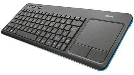 Trust Veza Wireless, CZ/SK černá/modrá (21267)