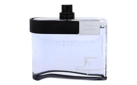 Salvatore Ferragamo F by Ferragamo Black 100 ml toaletní voda tester pro muže