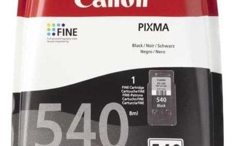 Inkoustová náplň Canon PG-540, 180 stran - originální černá (5225B005)