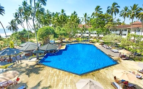 Srí Lanka, Kalutara, letecky na 11 dní polopenze