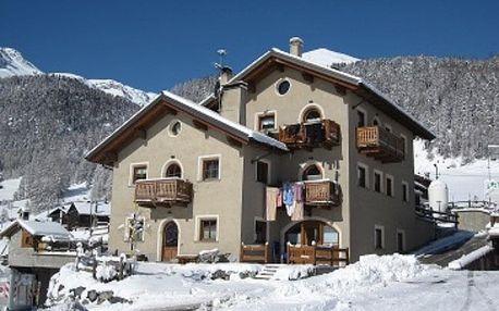 Itálie, Alta Valtellina, vlastní dopravou na 8 dní bez stravy