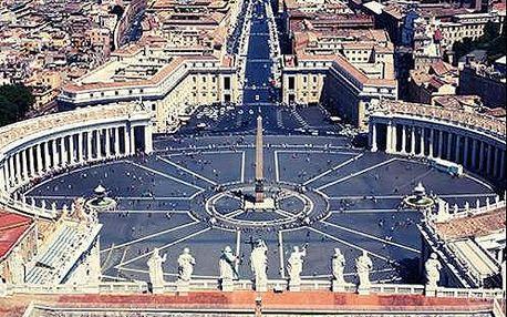 Navštivte Řím a poznejte jeho krásy při pobytu v hotelu přímo v centru města