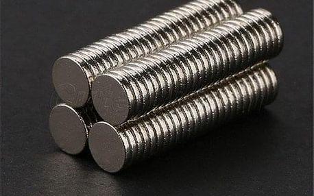 Super silné magnety - 100 ks