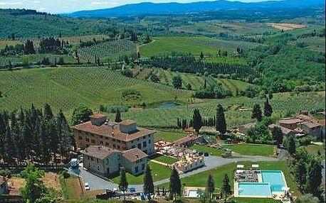 Nádherný pobyt v Toskánsku ve vile uprostřed vinic. Dítě do 12 let zdarma