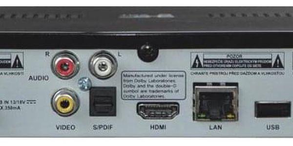 Satelitní přijímač GoSat GS7060 HDi černý5