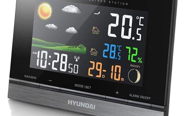 Meteorologická stanice Hyundai WS 2303 černá4