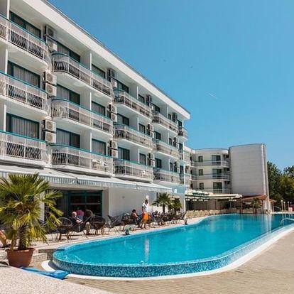 Bulharsko - Slunečné Pobřeží na 8 až 11 dní, all inclusive nebo polopenze s dopravou vlastní, 50 m od pláže