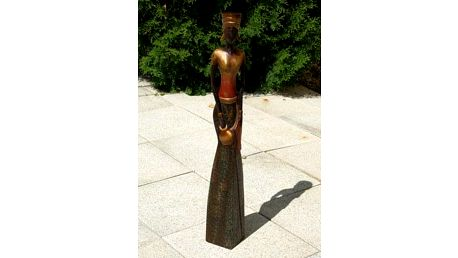 Dřevořezba - Lady 80cm