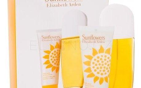 Elizabeth Arden Sunflowers dárková kazeta pro ženy toaletní voda 100 ml + tělové mléko 100 ml