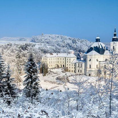 Pobyt na Zámku Křtiny v Moravském krasu s polopenzí