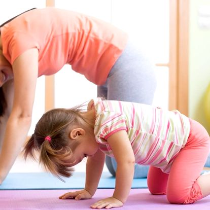 Kurz cvičení rodičů s dětmi - 10 lekcí
