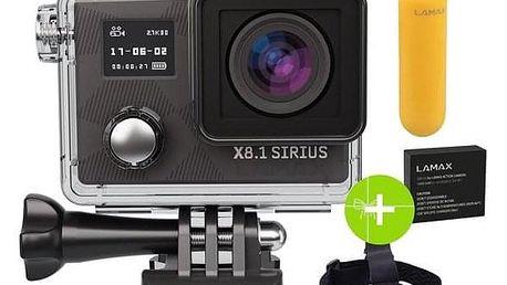 LAMAX X8.1 Sirius + dárek, černá