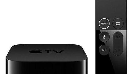 Apple TV 4K 64GB černý (mp7p2cs/a)
