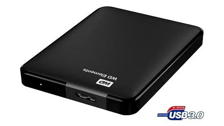 Western Digital Elements Portable 1TB černý (WDBUZG0010BBK-WESN)