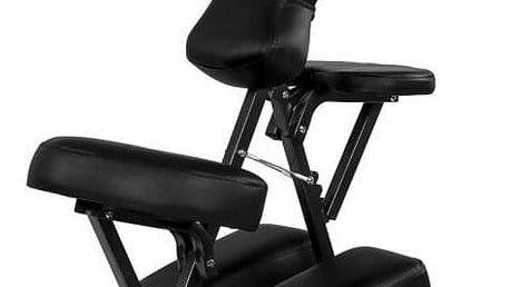 Movit 1326 Masážní židle skládací černá 8,5 kg