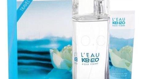 KENZO L´Eau Kenzo Pour Femme dárková kazeta pro ženy Edt 100ml + 75ml tělový gel