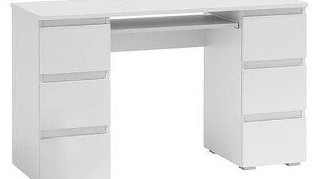 Počítačový stůl KLIK 6 bílá