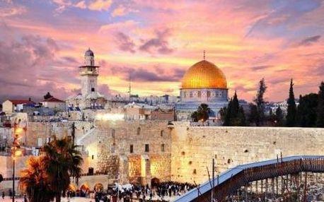 Izrael letecky na 7 dnů