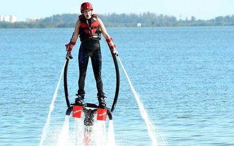 Flyboard - 20min. adrenalinový let nad vodní hladinou