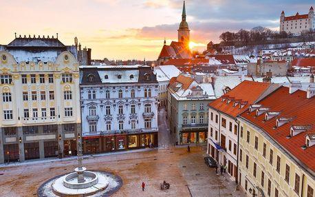 Pobyt blízko Bratislavy se snídaní i lahví sektu