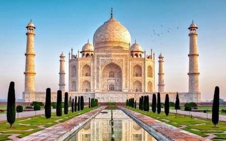 Indie - INDIE letecky na 8 dnů, snídaně v ceně