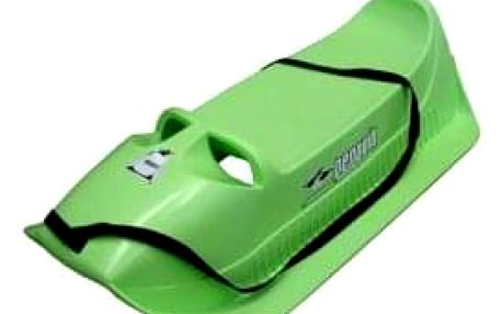 Plastové sáňky Pinguin, Alfa- zelené
