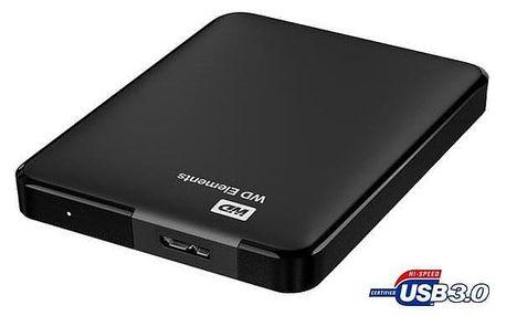 Western Digital Elements Portable 1TB černý (WDBUZG0010BBK-WESN)