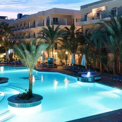 Egypt - Hurghada na 8 až 15 dní, all inclusive s dopravou letecky z Prahy, přímo na pláži