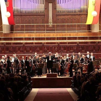 Vstupenka na houslový koncert ve Smetanově síni