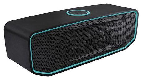 LAMAX Solitaire1 černý/tyrkysový