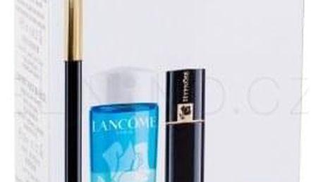Lancôme Le Crayon Khôl dárková kazeta pro ženy tužka na oči Le Crayon Khol 1,14 g + řasenka Hypnose 2 ml 01 Black + odličovač očí Bi-Facil 30 ml + péče o oční okolí Advanced Génifique Yeux 5 ml Black