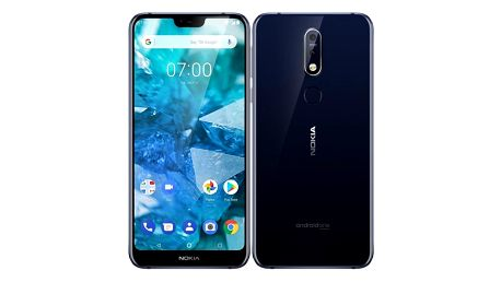 Nokia 7.1 Single SIM modrý (11CTLL01A05)