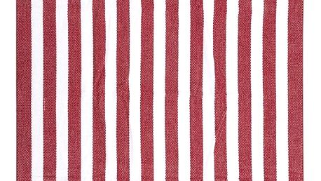 TipTrade Plážová osuška Splash červená 90x170