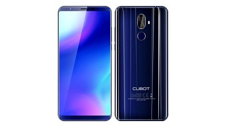 CUBOT X18 Plus modrý (PH3807)