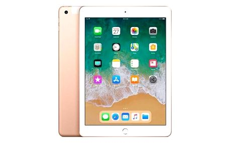 Apple iPad (2018) Wi-Fi + Cellular 128 GB - Gold (MRM22FD/A)