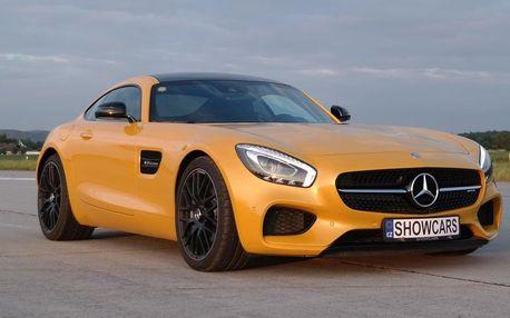 Mercedes Benz AMG GTS V8 BiTurbo - zážitkové jízdy