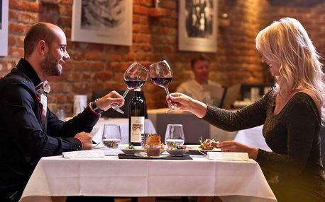 Tip na Valentýna: degustační menu a luxusní relax