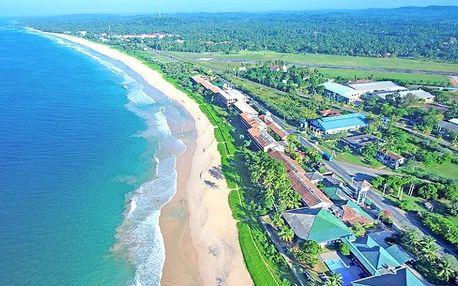 Srí Lanka, Koggala, letecky na 12 dní snídaně