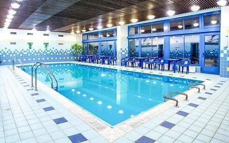 Luhačovice v Hotelu Harmonie *** s polopenzí, bazénem a wellness procedurami