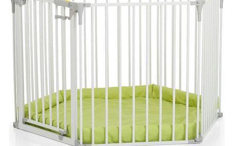 HAUCK Ohrádka s matrací Baby Park - white