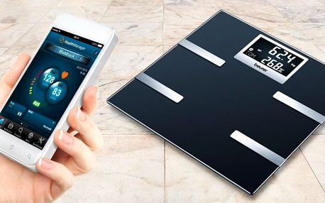 Osobní diagnostická váha BEURER s mobilní aplikací