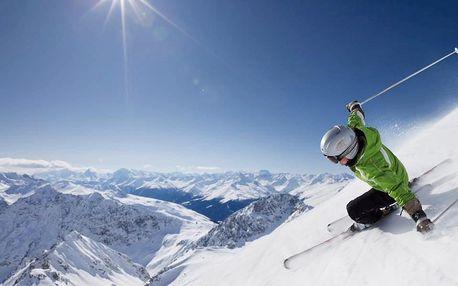 Zimní Passo Tonale s polopenzí a skipasem