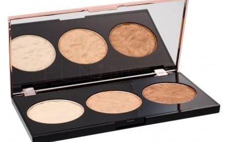 Makeup Revolution London Strobe Luxe Palette 11,5 g paletka 3 rozjasňovačů pro ženy