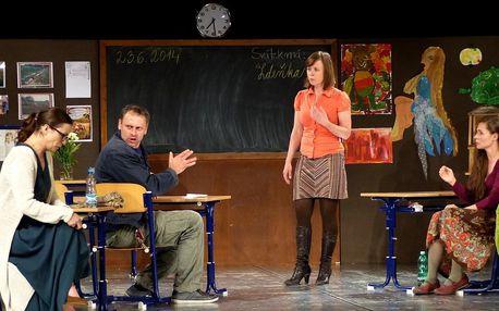 Vstupenky na divadelní představení Úča musí pryč