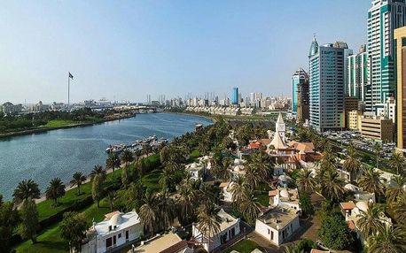Spojené arabské emiráty - Sharjah na 4 dny, polopenze nebo snídaně s dopravou letecky z Prahy