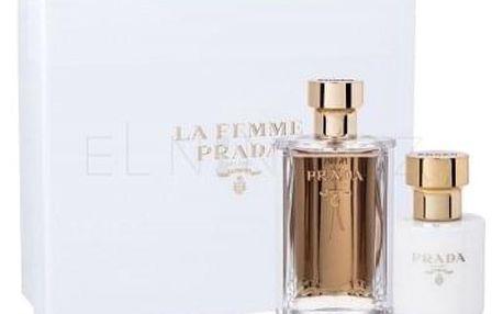 Prada La Femme dárková kazeta pro ženy parfémovaná voda 100 ml + tělové mléko 100 ml