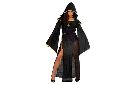 Dáma z temnot - kostým černý
