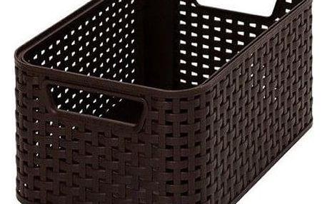 CURVER STYLE BOX 32294 Plastový úložný - S- hnědý